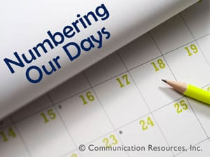 Numbering Our Days