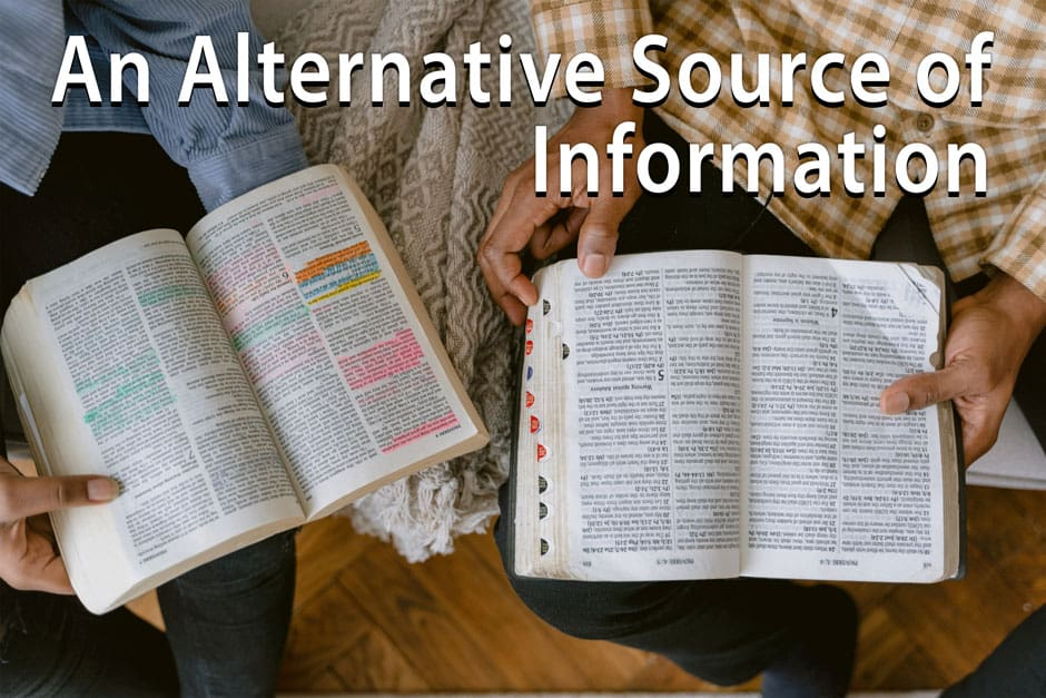 An Alternative Source Of Information 940 X 627